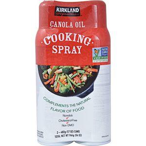 Kirkland Signature Cooking Spray 2 Pack/17 Ounces Each