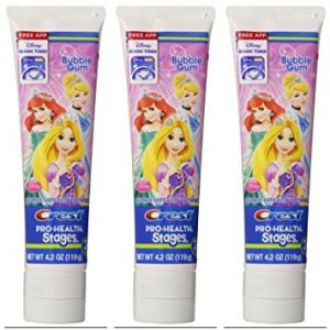 Crest Kids Princess Toothpaste 4.2oz - 4 Pack