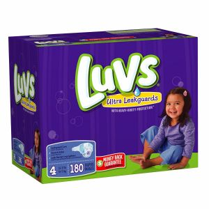 Luvs Diapers Size 4 180ct