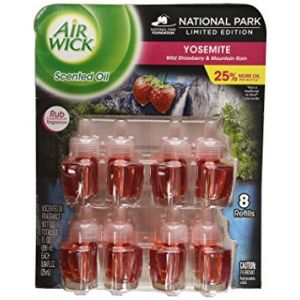 Airwick Scented Oil National Park limited edition 8 Refills