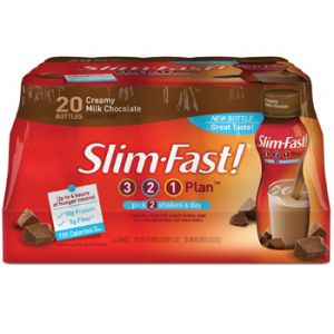Slimfast Chocolate 20 ct