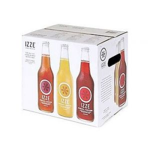 Izze Sparkling Fruit Juice 12 oz - 12 Pack