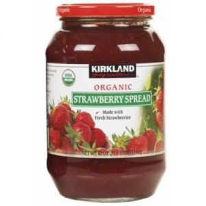 Kirkland Signature Organic Strawberry Spread 42 OZ