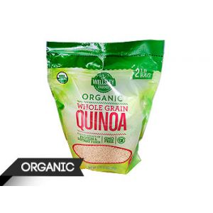 Wellsley Farms. Organic Whole Grain Quinoa. 3 LB