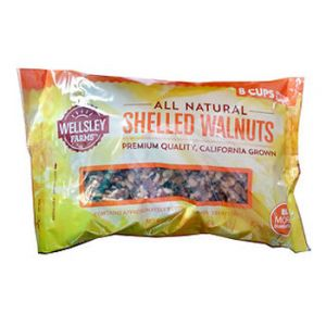 Wellsley Farms Shelled Walnuts 2Lb