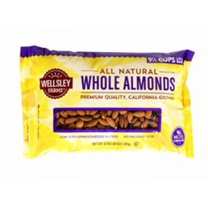 Wellsley Farms Whole Almonds 3LB