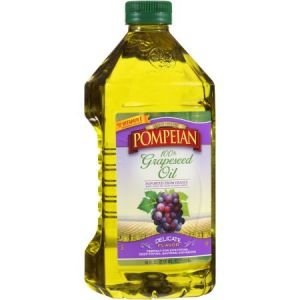 Pompeian Grapeseed Oil 2 Liter Bottle