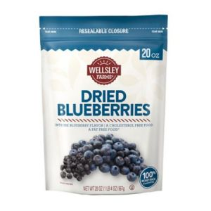 Wellsley Farms Dried Blueberries - 20 oz