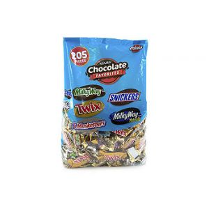 MARS CHOCOLATE FAVORITES 205 CT BAG