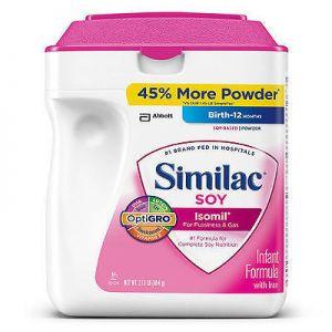 Similac Soy Isomil Infant Formula - 34 oz