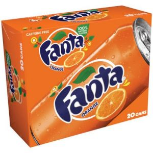 Fanta Orange Soda 12oz Cans - 20 Pack