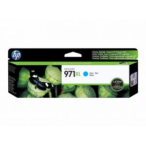 HP 971XL Officejet Pro X Cyan Ink Cartridge (CN626AM), High Yield