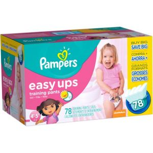 4T-5T Pampers Easy Ups Girls Diapers