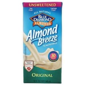 Blue Diamond Almond Breeze Milk Original Flavor. 32 OZ. / 12 CT
