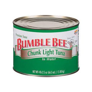 Bumble Bee Chunk Light Tuna in Water 66.5 oz Can