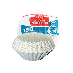 PROMOS COFFEE FILTERS 24/150-CT / BASQUET.