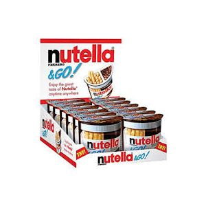 Nutella & Go Spread and Breadsticks 1.8 oz - 16 Pack