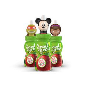 Good 2 Grow 100% Fruit Punch Juice - Boys Characters - 3 Pack