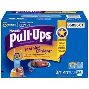 3T-4T Huggies Pull-Ups Boys Diapers