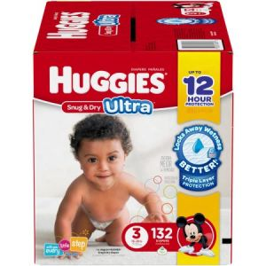 Huggies Snug & Dry Diapers Size 3 -192 ct