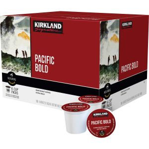 Kirkland Signature Keurig K-Cups Pacific Bold Coffee Dark Roast - 100 Pack