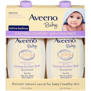Aveeno Baby Calming Wash 18oz Bottle - 2 Pack