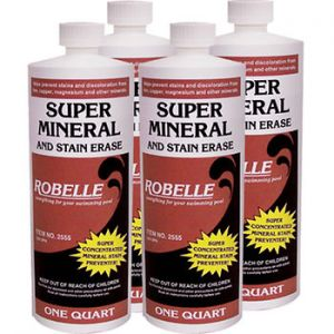 Robelle Super Mineral and Stain Erase, 4 pk./1 qt.