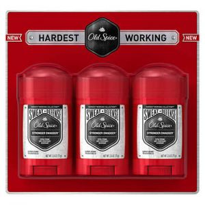 Old Spice hardest working collection sweat defense anti-perspirant & deodorant stronger swagger 2.6 oz - 3 Pack