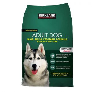 Kirkland Signature Lamb + Rice & Vegetables Adult Dog Food 40 LBS.