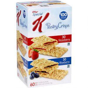 Kellogg's Special K Pastry Crisp Variety - 72 Pack