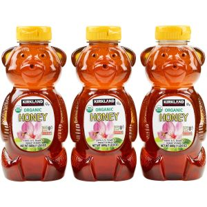 Kirkland Signature Organic Honey Bears 3/24 OZ