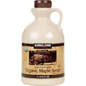 Kirkland Signature Organic Maple Syrup