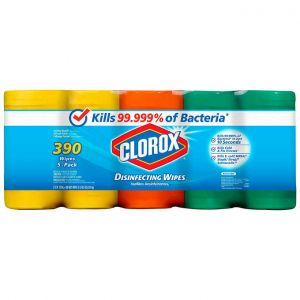 Clorox Disinfecting Wipes 78 Wipes - 5-Pack