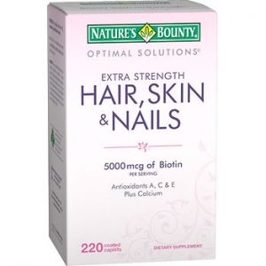 Nature's Bounty Hair, Skin & Nails 220 CT Tablets
