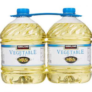 Kirkland Signature Vegetable Oil 2/3 Quart Bottles