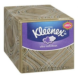 3 Pack - Kleenex Tissues, Ultra Soft, White, 3-Ply, 75 tissues
