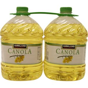 Kirkland Signature Canola Oil 2/3 Quart Bottles