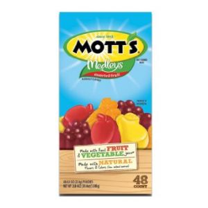 Mott's Medleys Fruit Snacks 48 ct.