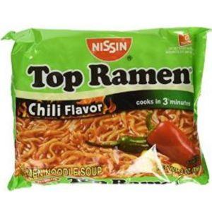 NISSIN TOP RAMEN CHILI 24/3 OZ.