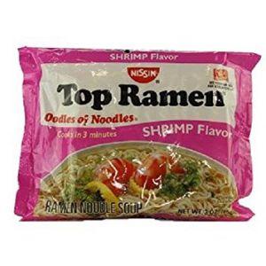 NISSIN TOP RAMEN SHRIMP 24/3oz (BILINGUAL)