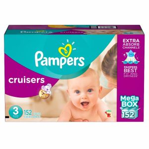 Pampers Cruisers Size 3 152 ct