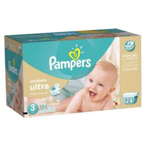 Pampers Cruisers Ultra Size 3 124 ct