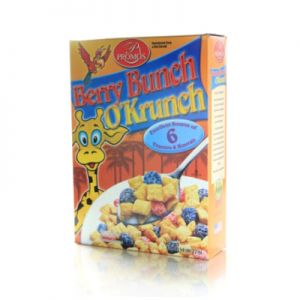 PROMOS BERRY BUNCH O' KRUNCH CEREAL. 12/8oz.