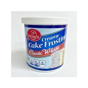 PROMOS CLASSIC WHITE FROSTING 12/12OZ.