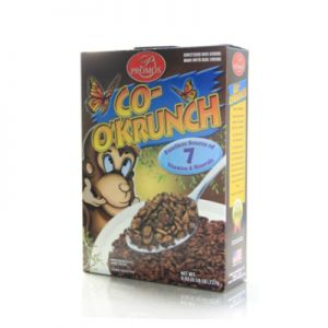 PROMOS COCO KRUNCH CEREAL.( like Cocoa Pebbles.) 12/8oz.