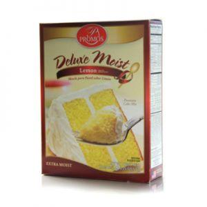PROMOS DELUXE MOIST LEMON CAKE MIX 12/18.25 OZ