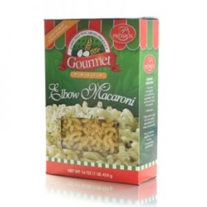 PROMOS, ELBOW MACARONI PASTA, BOX. 20 / 16oz.