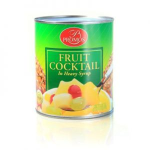 PROMOS FRUIT COCKTAIL IN HEAVY SYRUP 24/30 OZ