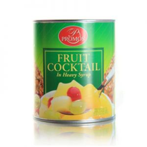 PROMOS FRUIT COCKTAIL IN HEAVY SYRUP 6/#10