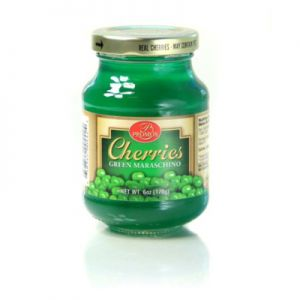 PROMOS, GREEN MARASCHINO CHERRIES.12/6OZ.